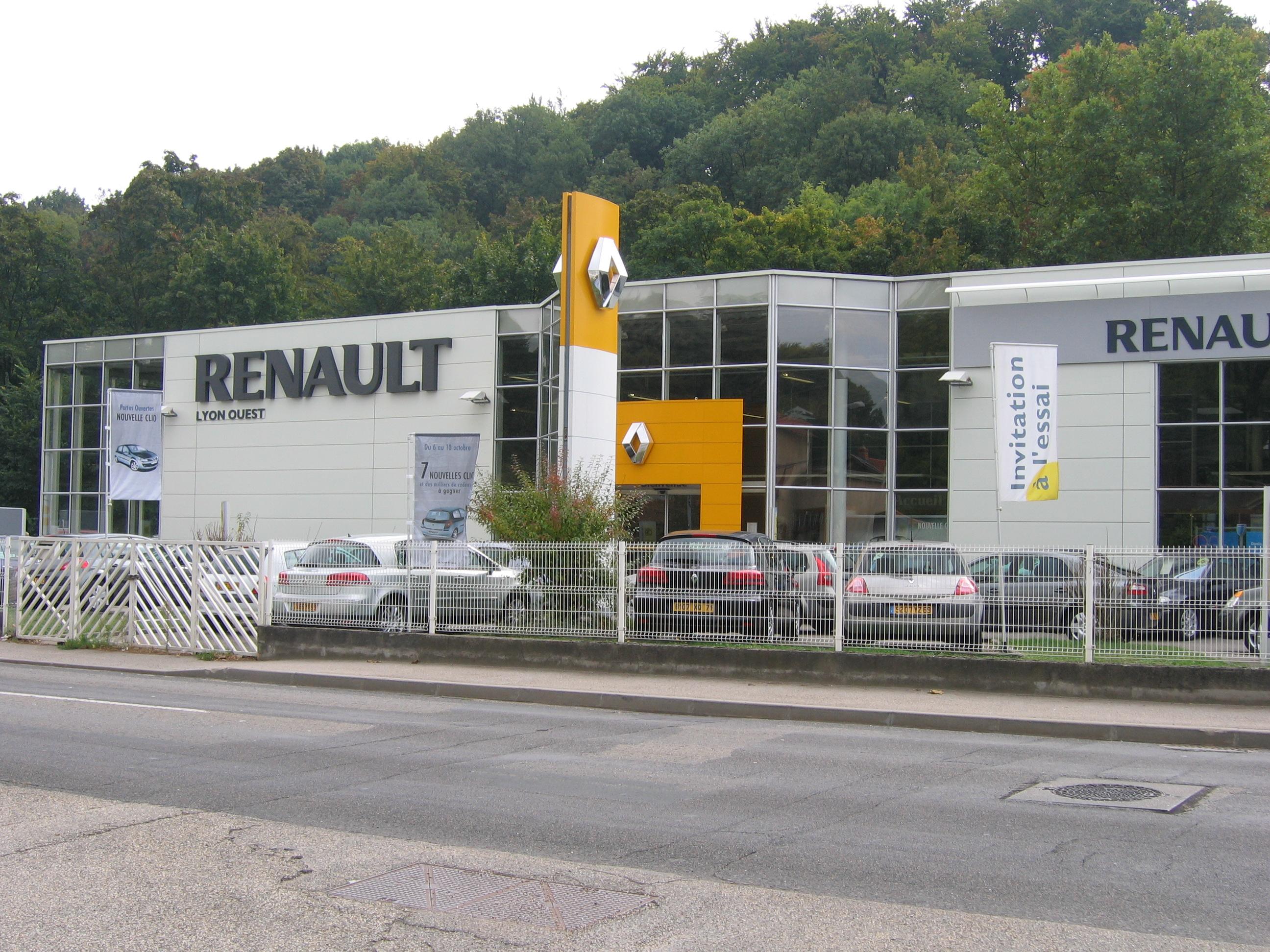 Garage Renault Oullins