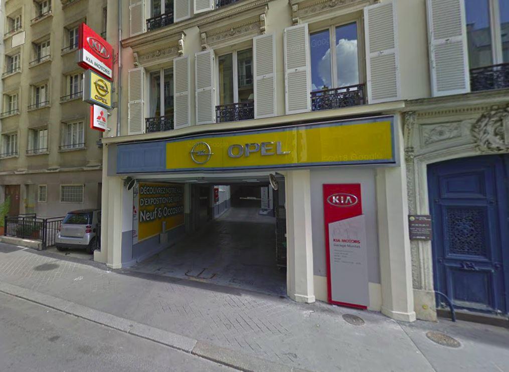 Garage Montet Paris 17