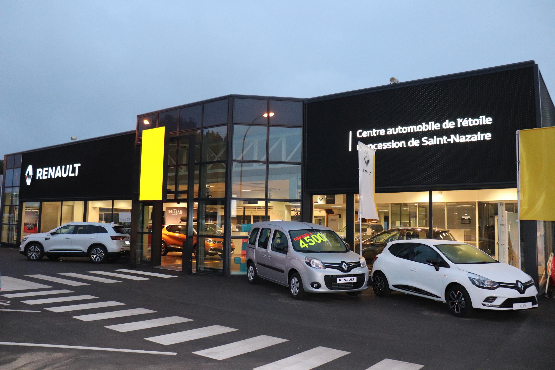 Centre automobile de l 39 etoile concessionnaire renault st nazaire auto occasion st nazaire - Garage renault saint nazaire ...