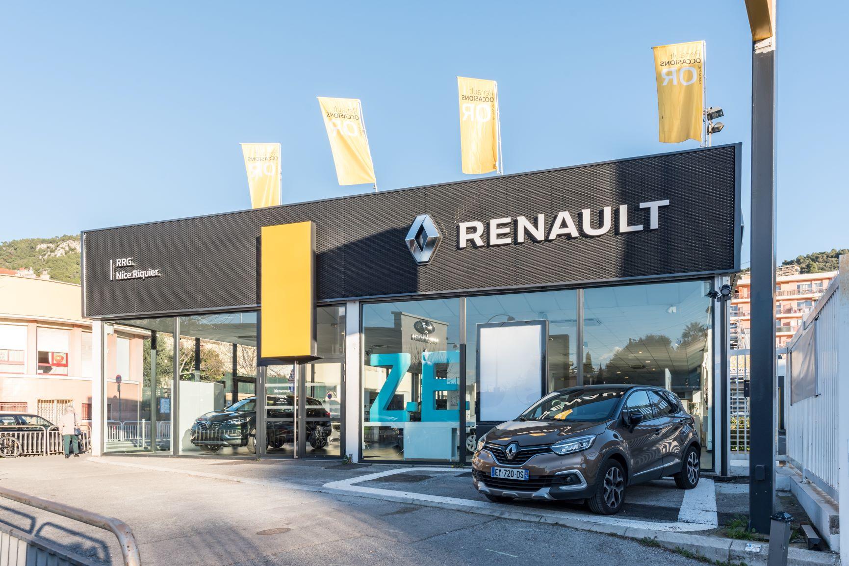 RENAULT NICE RIQUIER : Concessionnaire RENAULT NICE - Auto